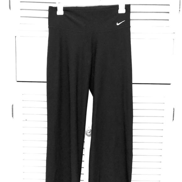 Nike Pants Jumpsuits Sz Small Wide Legflare Yoga Pant Poshmark